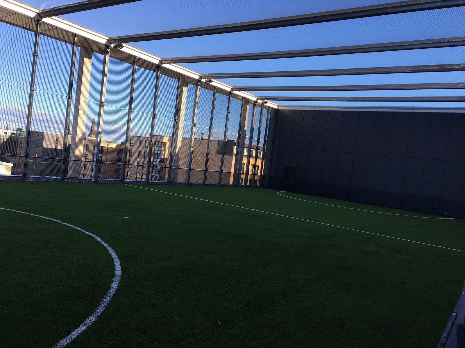 Selsports Rooftop 5 A Side Football Pitch Boroughmuir