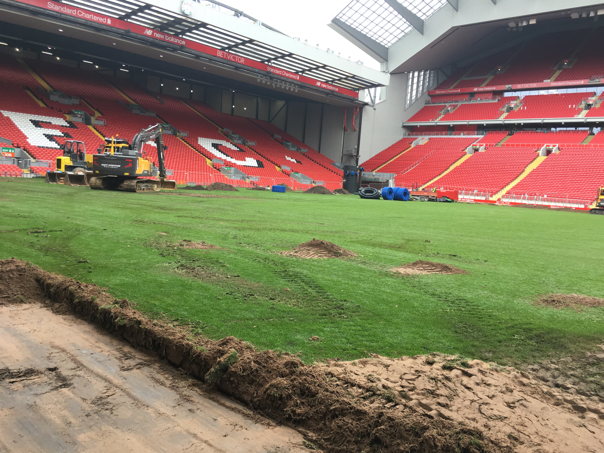 Selsports Innovative Pitch Drainage And Air Blanket System